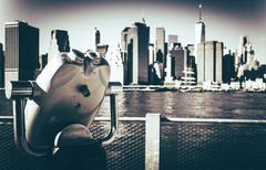 New York Vista Point. Stock Photos