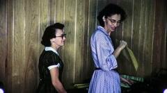 Secretaries Copy Machine Office Workers 1950s Vintage Film Home Movie 9142 Stock Footage