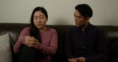 Couple having relationship problem. Shot on RED Epic. Stock Footage