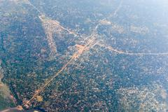 Inhambane Province Aerial View - Mozambique - stock photo