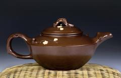 Antique Yixing Tea Pot. Stock Photos