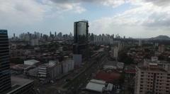 PANAMA CIUDAD Stock Footage
