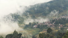 Rice Terraces Yunnan Province Stock Footage