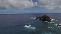 Hana Maui Landscape drone Stock Footage