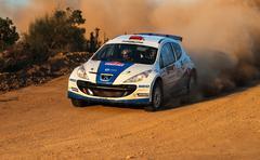 Istanbul Rally 2015 Stock Photos