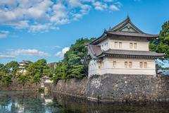 Imperial palace in Tokyo, japan Stock Photos