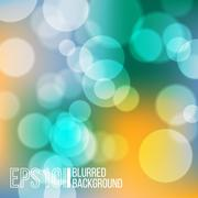 Bright vector background with bokeh effect. Stock Illustration