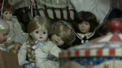 Centrifugal and dolls Stock Footage