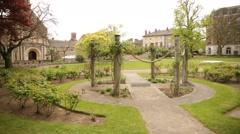 English Gardens, England, Europe Stock Footage