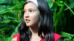 Young Hispanic Kids Smiling - stock footage