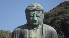 Great Buddha at Kamakura, Japan - stock footage