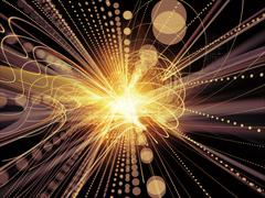 Processing Wave Particle Stock Illustration