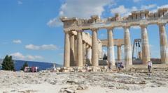 Acropolis, Athens, Greece, 4k Stock Footage