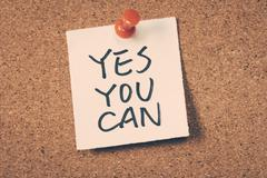 yes you can - stock photo
