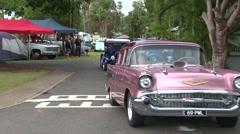 Vintage Car Medley 2 Stock Footage