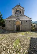 Fieschi Basilica - stock photo