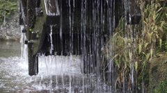 Water Wheel in Gifu Prefecture, Japan Stock Footage