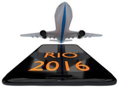 Rio 2016 concept Stock Illustration