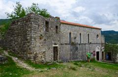Church of St. Veneranda (XIV century), Old Bar, Montenegro - stock photo