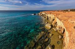 Cyprus coast Stock Photos
