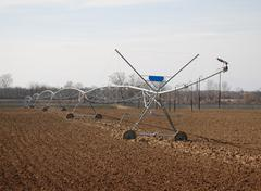 Crop Irrigator Stock Photos
