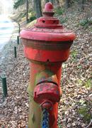 Old Slovenian Fire Hydrant - stock photo