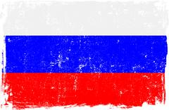 Stock Illustration of Russian Federation Vector Flag on White
