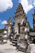 Hindu temple at Pura Sahab, Nusa Penida, Bali, Indonesia - stock photo
