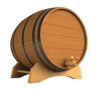 Barrel - stock illustration