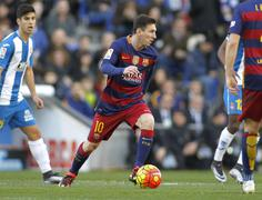 Leo Messi of FC Barcelona - stock photo