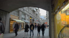 St Malo, France Stock Footage