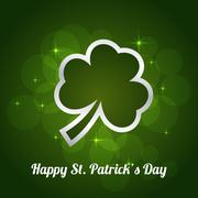 St Patrick Day Stock Illustration