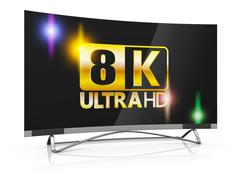 Stock Illustration of 8K Ultra HD