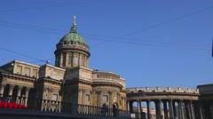 Saint Petersburg. Kazan Cathedral Stock Footage
