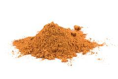 Cinnamon powder Stock Photos