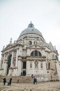 Basilica Di Santa Maria della Salute - stock photo