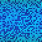 Disco blue background Stock Illustration