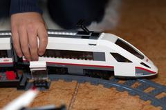 LEGO CITY High Speed Train - stock photo