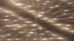 Orange Flood Lights Disco Music Background. - stock footage