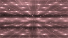 Red Flood Lights Disco Music Background. - stock footage