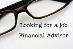 Looking for a job Financial Advisor Kuvituskuvat
