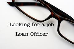 Looking for a job Loan Officer - stock photo