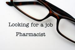 Looking for a job Pharmacist - stock photo