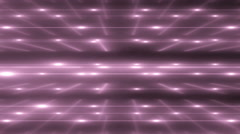 Pink Flood Lights Disco Music Background. - stock footage