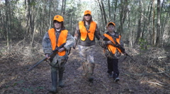 Hunting Traditions - stock footage