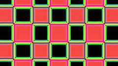 Checker Board Color-changing pattern #2 Background Stock Footage