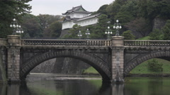 Imperial Palace in Tokyo, Japan Stock Footage