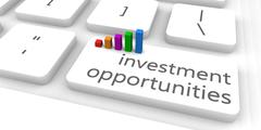 Investment Opportunities Stock Illustration