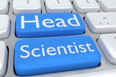 Head Scientist concept Piirros