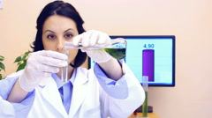 Laboratory Research Stock Footage